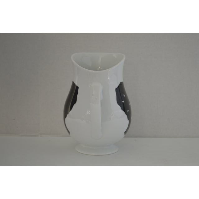 Bernardaud Kara Walker Silhouettes Limited Edition Pitcher For Sale - Image 5 of 7