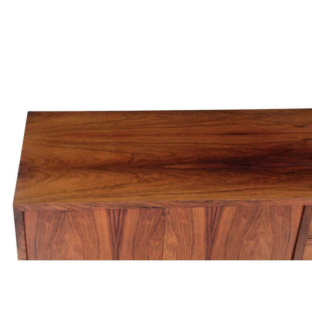 Birch Circa 1960s Danish Mid Century Rosewood Credenza by Poul Hundevad For Sale - Image 7 of 11