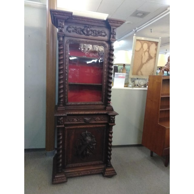 19th Century French Hunter's Cabinet/Bookcase For Sale - Image 10 of 13