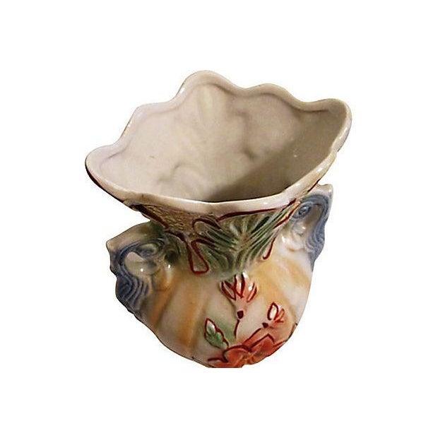 Large Brazilian Lusterware Handled Vase - Image 6 of 7