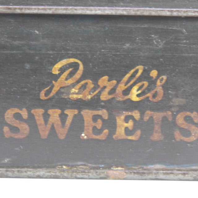 Vintage Candy Tin Box For Sale - Image 4 of 5