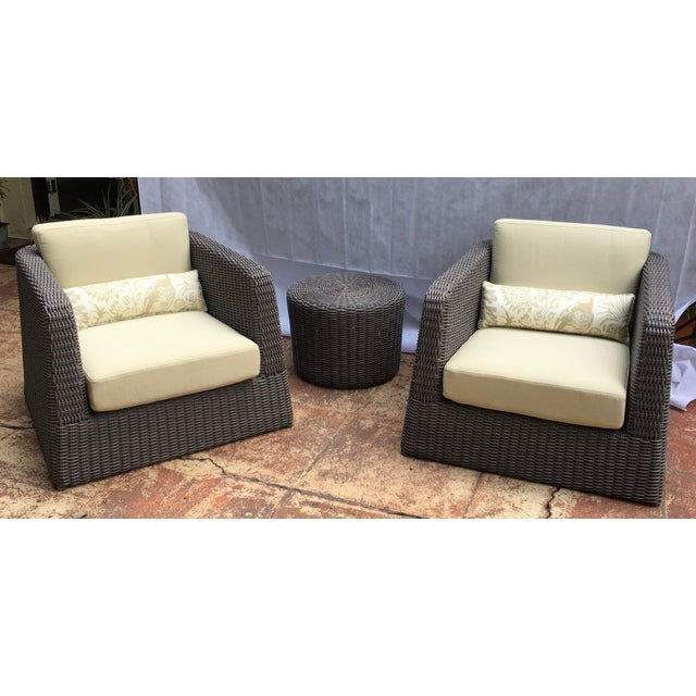 Patio Furniture by Janus Et Cie- 3 Pieces For Sale - Image 12 of 12