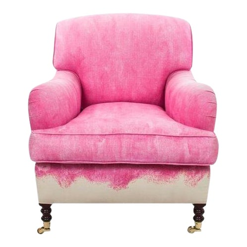 George Smith Pink Signature Armchair - Image 1 of 7