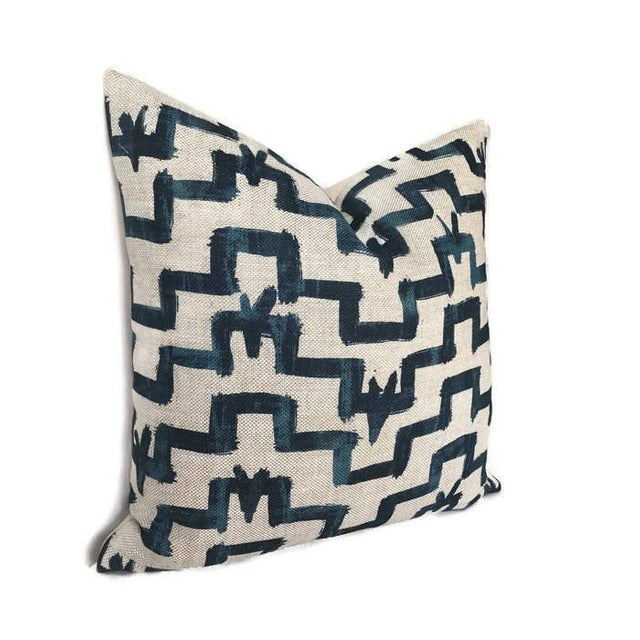 Add A New Look By Using Pillow Covers Made of Designer Fabric! UNUSED PILLOW COVER- Made to Order On the Front: Zak + Fox...