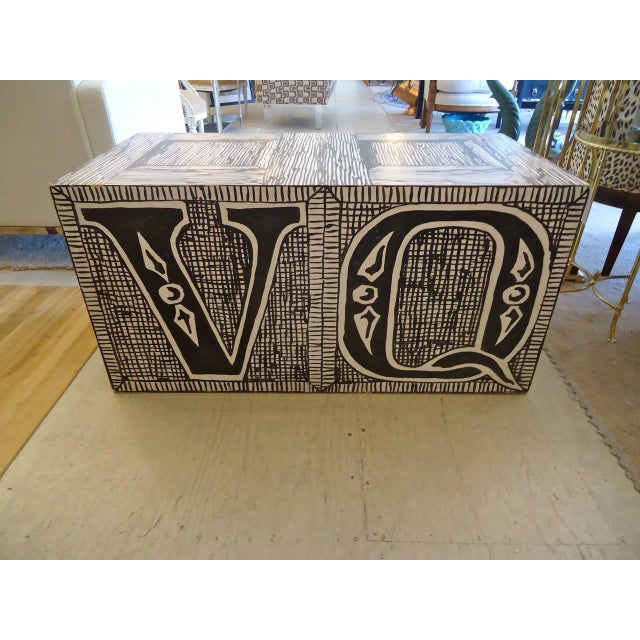 Figurative Edward Gorey Cube End/Coffee Tables-Set of 3 For Sale - Image 3 of 7