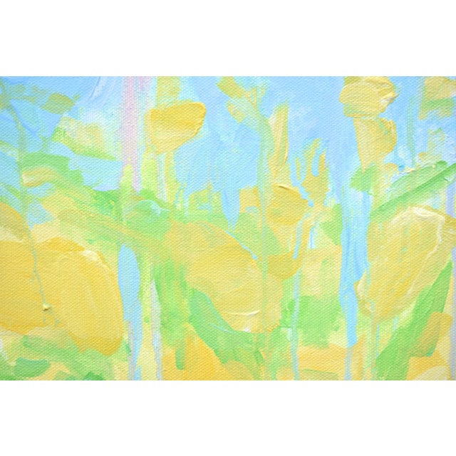 """Contemporary Abstract """"Keep on the Sunny Side"""" Painting by Stephen Remick For Sale In Providence - Image 6 of 11"""