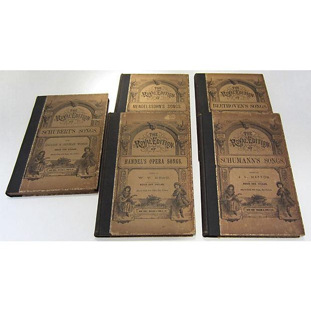 Antique Traditional Song Books - Set of 5 - Image 4 of 5
