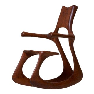 Bennet Sykes Blackburn Studio Rocking Chair, Usa, 1971 For Sale