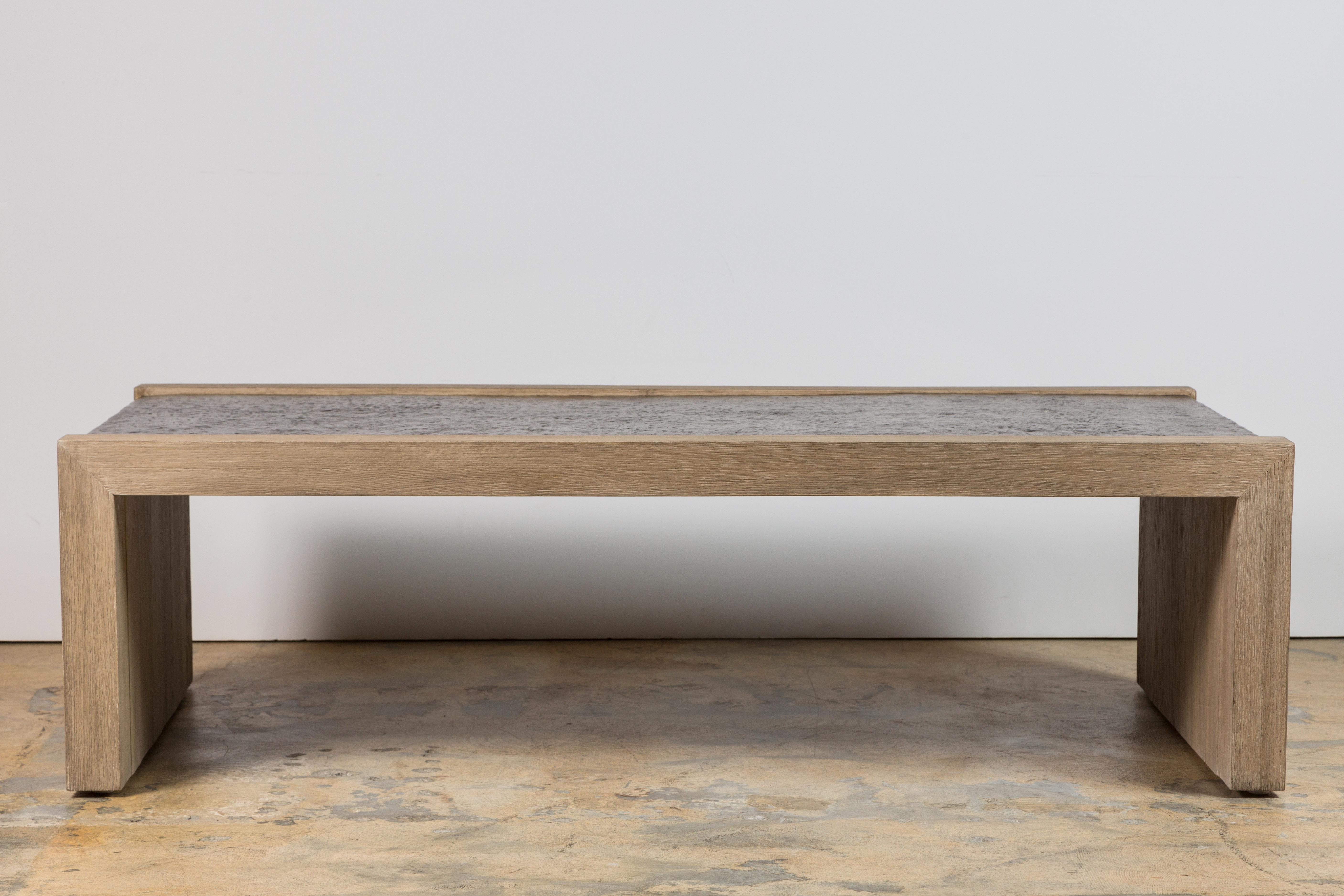 Lovely Paul Marra Rustic Modern Waterfall Table   Image 9 Of 10