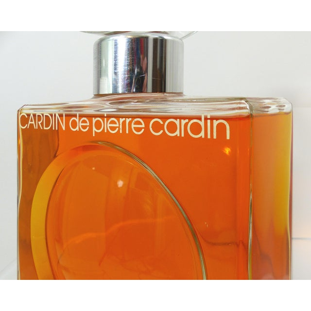 Store Display Pierre Cardin Purfume Bottle - Image 8 of 10