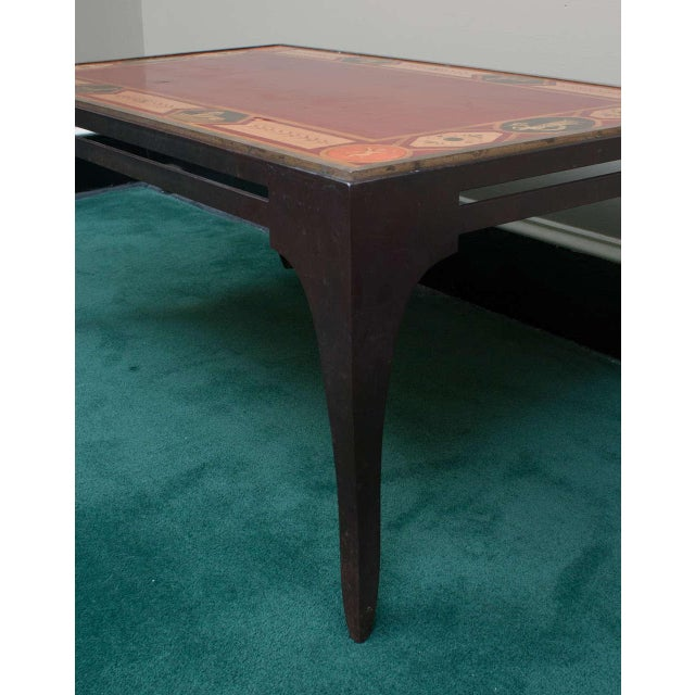 Brunschwig & Fils Late 20th Century Neoclassical Style Coffee Table For Sale - Image 4 of 8