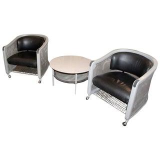 1999 Knoll Studio Neil Frankel Furniture Suite - 3 Pc. Set For Sale