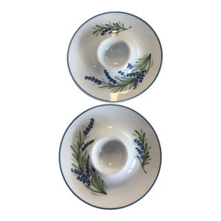 Limoges Egg Cups - a Pair For Sale