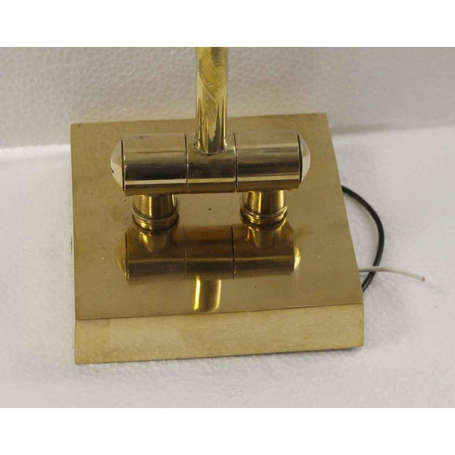 2000 - 2009 Articulating Arm Brass Wall Sconce For Sale - Image 5 of 9