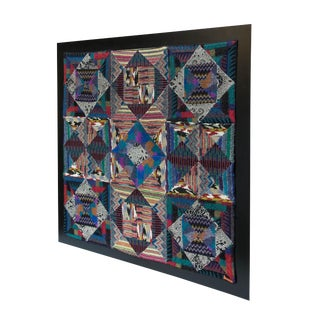 1970's Missoni Geometric Tapestry For Sale