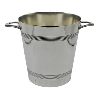 Early French Art Deco Champagne Bucket For Sale