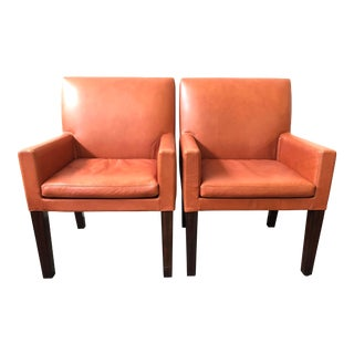 Ralph Lauren Home Penthouse Dining Arm Chairs - a Pair For Sale