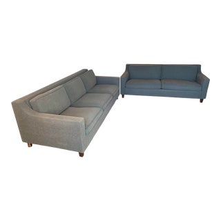Mid-Century Modern Sofa Set For Sale