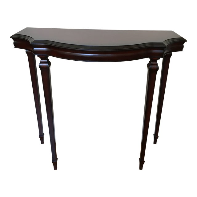 Sensational Regency Bombay Co Half Moon Console Table Lamtechconsult Wood Chair Design Ideas Lamtechconsultcom