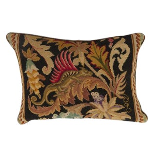 Needlepoint & Petit Point Pillow For Sale