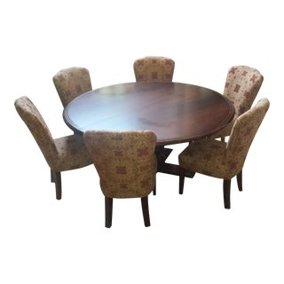 Contemporary Arhaus Dining Set For Sale