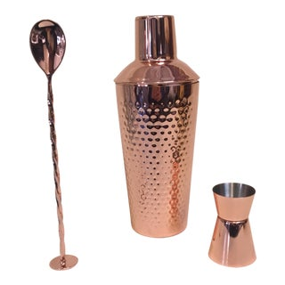 Copper Shake and Stir Mixology
