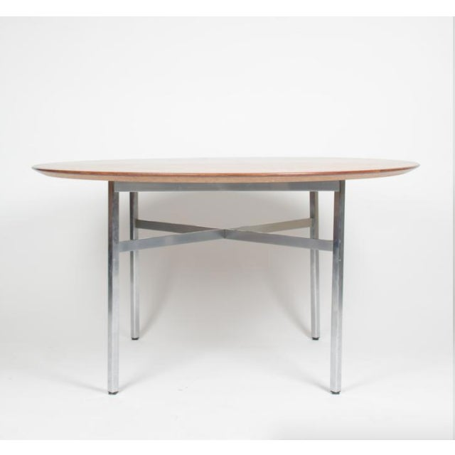 1970s Mid-Century Modern Florence Knoll Dining Table For Sale - Image 11 of 11