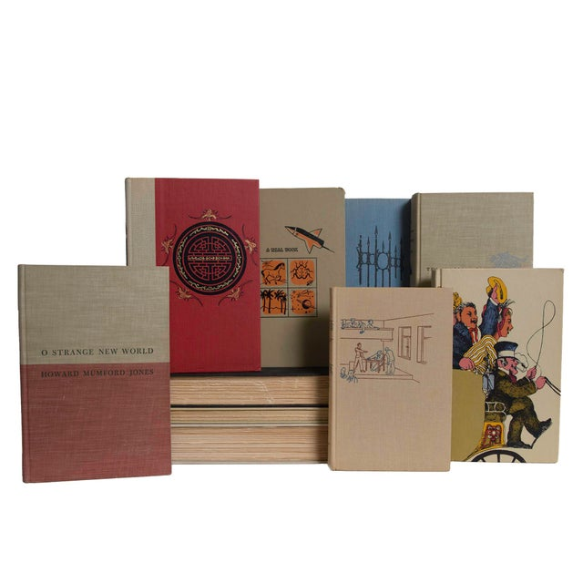 Features a blend of 20 authentic mid-century books published 1940-1969. Includes a variety of fiction and non-fiction...