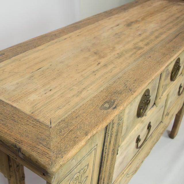 Antique 5 Drawer Gangsu Sideboard For Sale - Image 4 of 5
