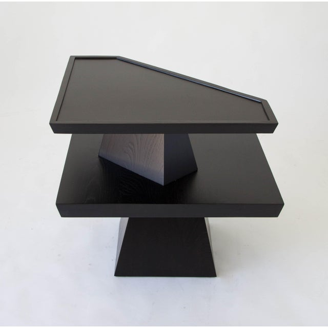 Brutalist Two-Tiered End Table - Image 5 of 11