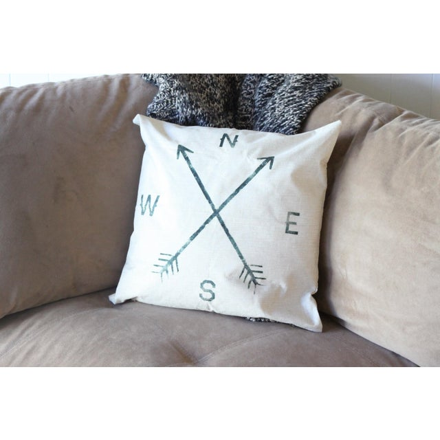Compass Pillow Cover - Image 3 of 4