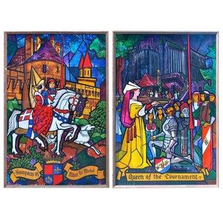 Two Panels by Lumen Martin Winter