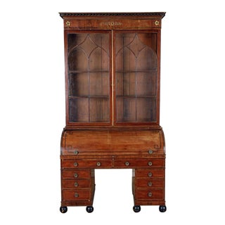 Early 19th Century Gothic Style Secretary For Sale