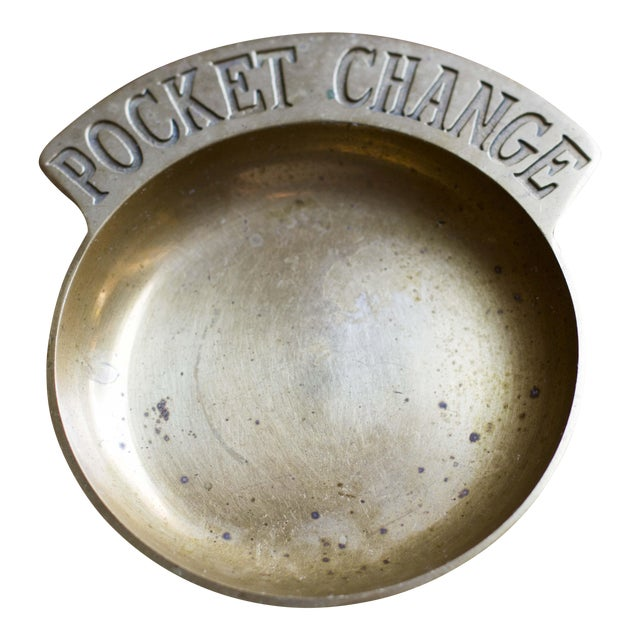Brass Pocket Change Catchall For Sale