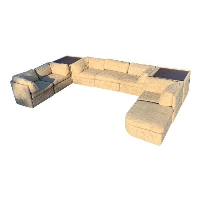 1970s Milo Baughman Sectional Sofa for Thayer Coggin For Sale