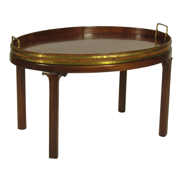 19th Century Regency Butler's Tray Table - Image 1 of 7