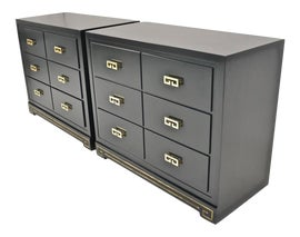Image of Dark Green Dressers and Chests of Drawers
