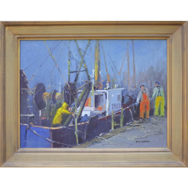 Bringing in the Catch Painting - Image 2 of 4