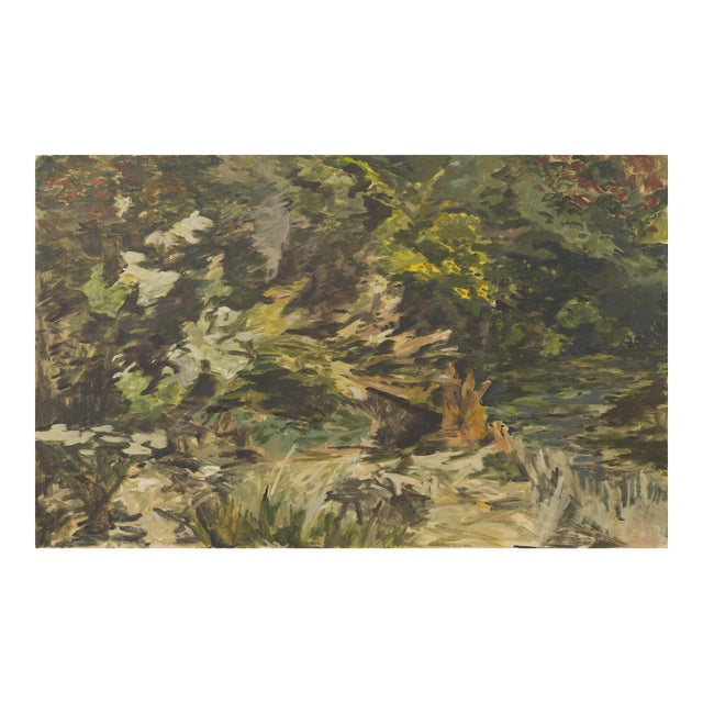 """Slater Sousley, """"The Overgrowth on the Bank"""" For Sale"""