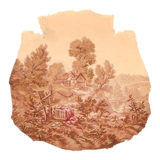 Antique Aubusson-Beauvais French Tapestry For Sale