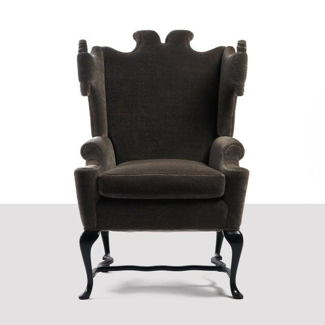 Arturo Pani Arturo Pani Wingback Chairs For Sale - Image 4 of 13