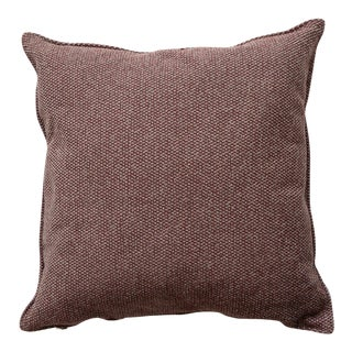 Cane-Line Wove Scatter Cushion, Square, Dark Bordeaux For Sale