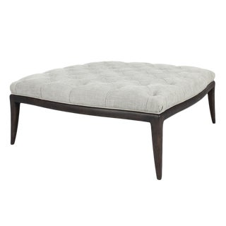 Sarried Ltd Alec Ottoman in Birch For Sale