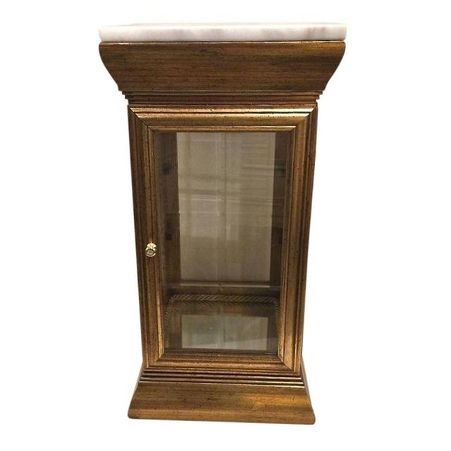Marble Top Display Cabinet - Image 1 of 7