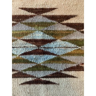 """Handwoven Wool Dhurrie Rug-2'x3"""" Preview"""