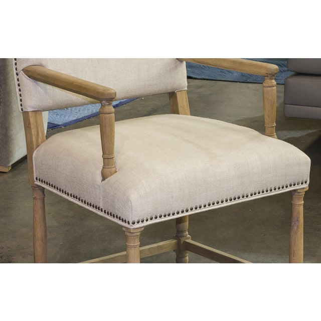 Restoration Hardware Empire Parson Chair - a Pair - Image 3 of 3