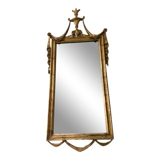 French Italy LaBarge Neoclassical Wall Mirror For Sale
