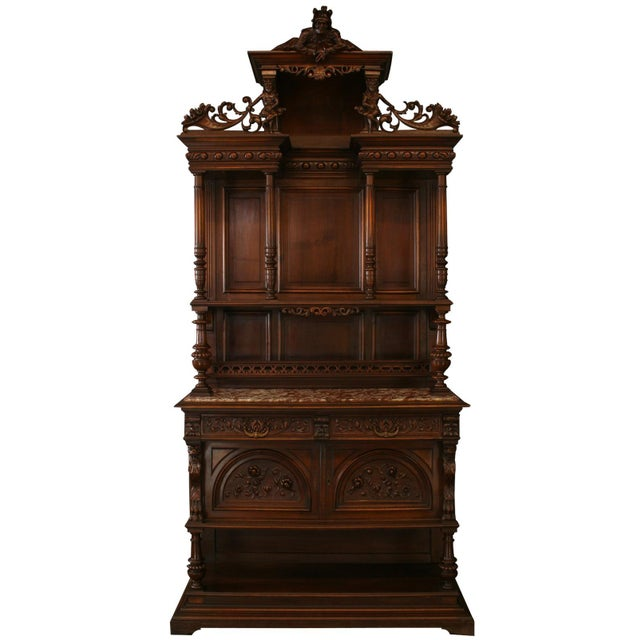 Antique French Renaissance Style Buffet For Sale