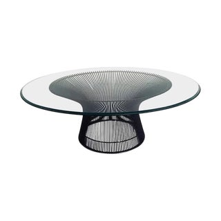 Warren Platner Bronze Coffee Table for Knoll For Sale