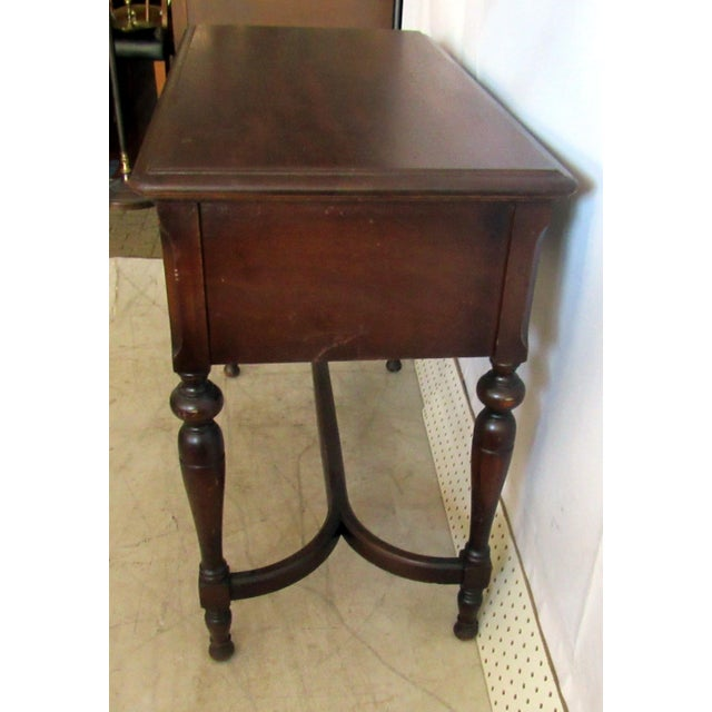 Sewing Machine Desk With White Mfg Co. Sewing Machine For Sale - Image 4 of 7